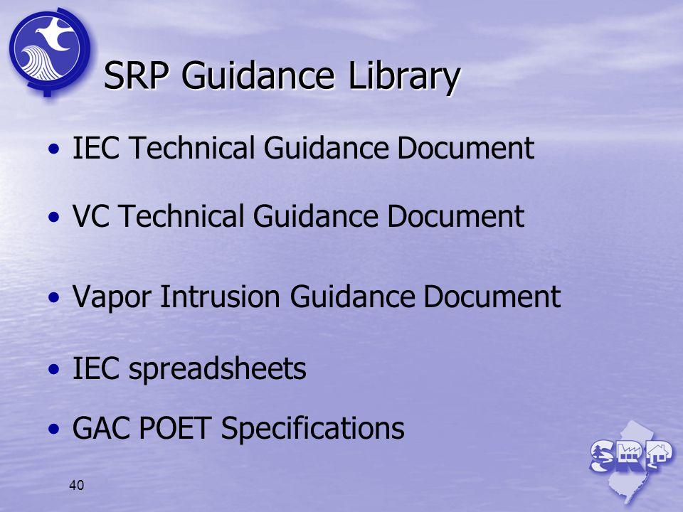 SRP Guidance Library IEC Technical Guidance Document