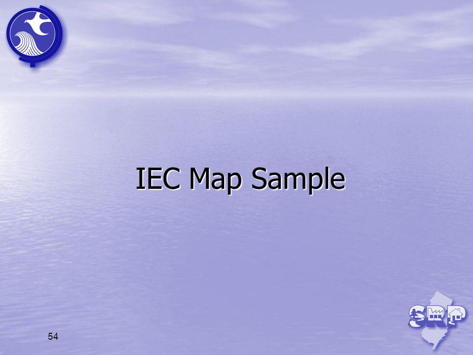 IEC Map Sample 54 54