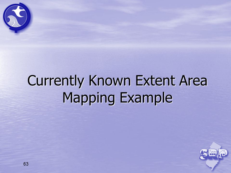 Currently Known Extent Area Mapping Example