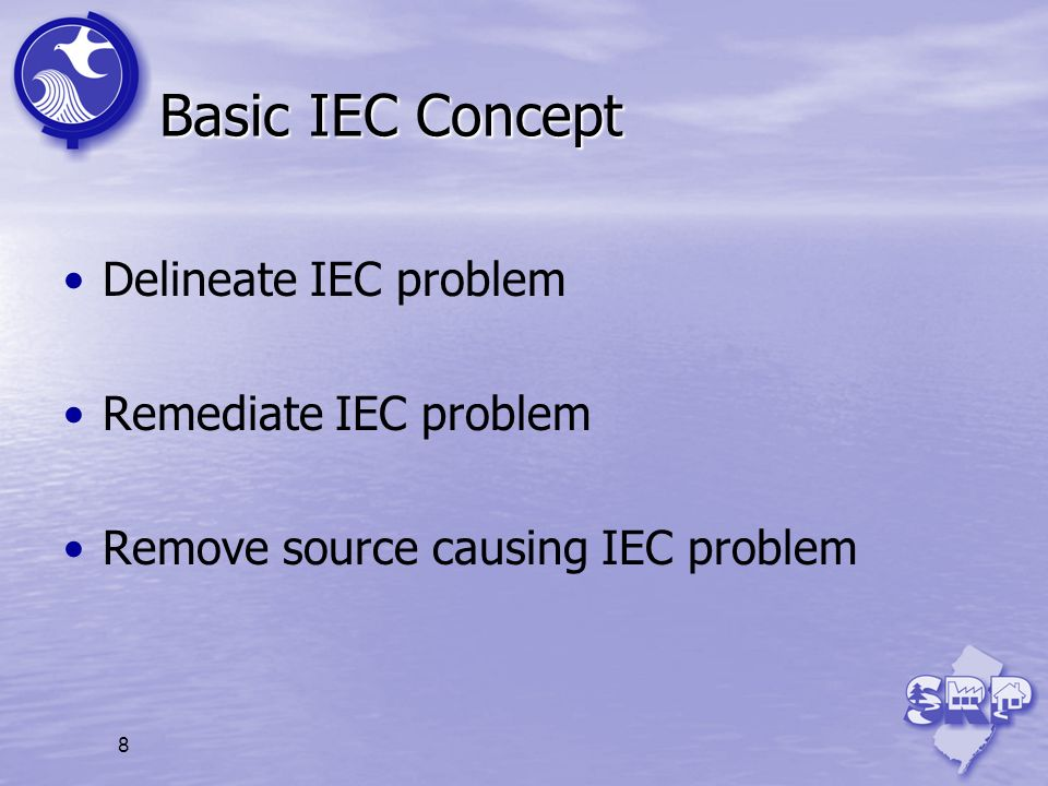 Basic IEC Concept Delineate IEC problem Remediate IEC problem