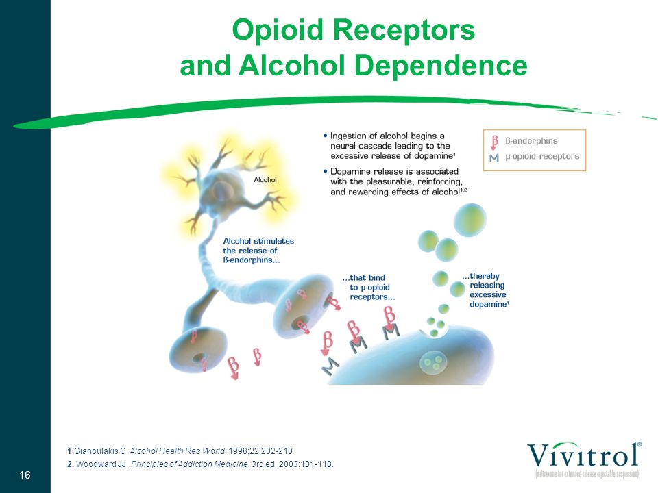 Opioid Receptors and Alcohol Dependence