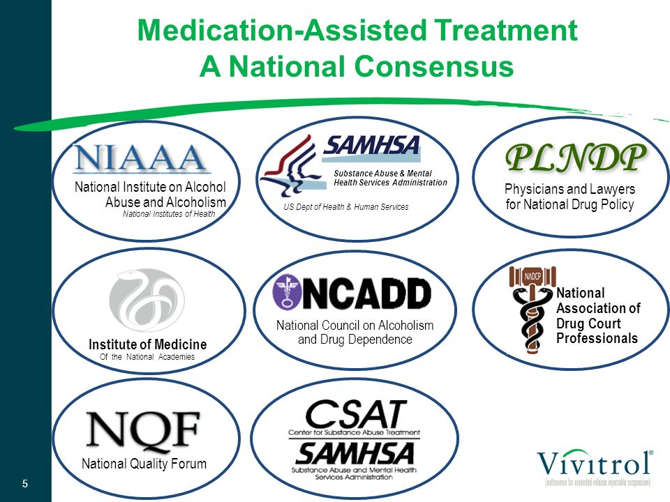 Medication-Assisted Treatment A National Consensus