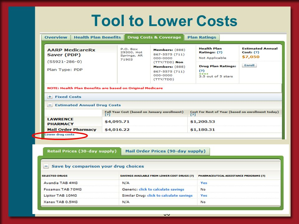 Tool to Lower Costs