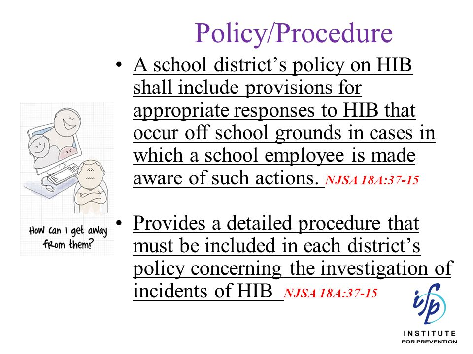Policy/Procedure