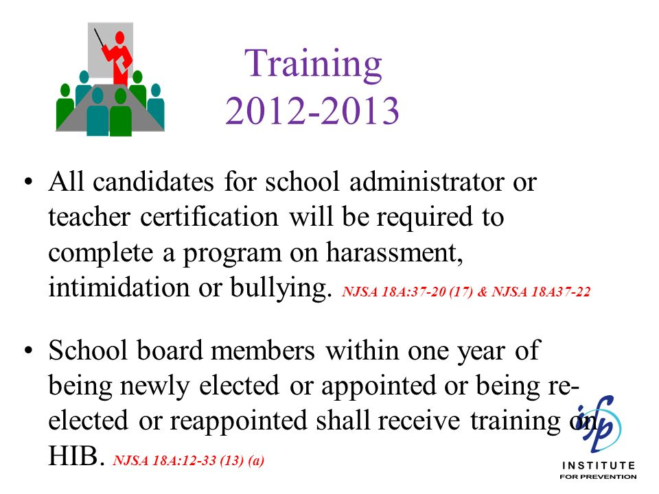 Training 2012-2013