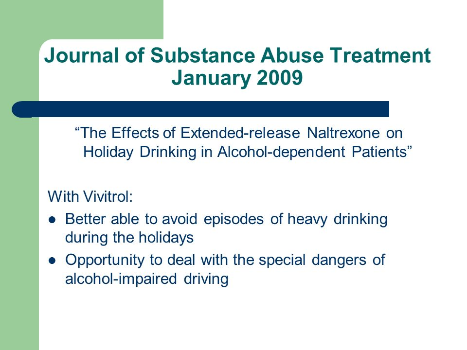 Journal of Substance Abuse Treatment January 2009