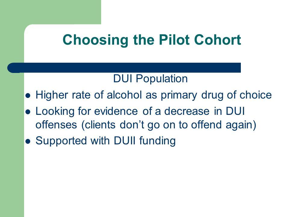 Choosing the Pilot Cohort