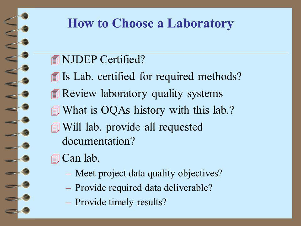 How to Choose a Laboratory