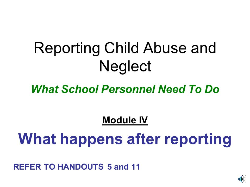 case study child abuse neglect Child abuse and neglect is a problem plaguing children today i will be identifying the risk factors, prevalence and the interventions and/or parent education programs that are available.