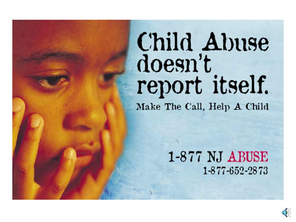 Child Abuse doesn't report itself. Make the call, help a child