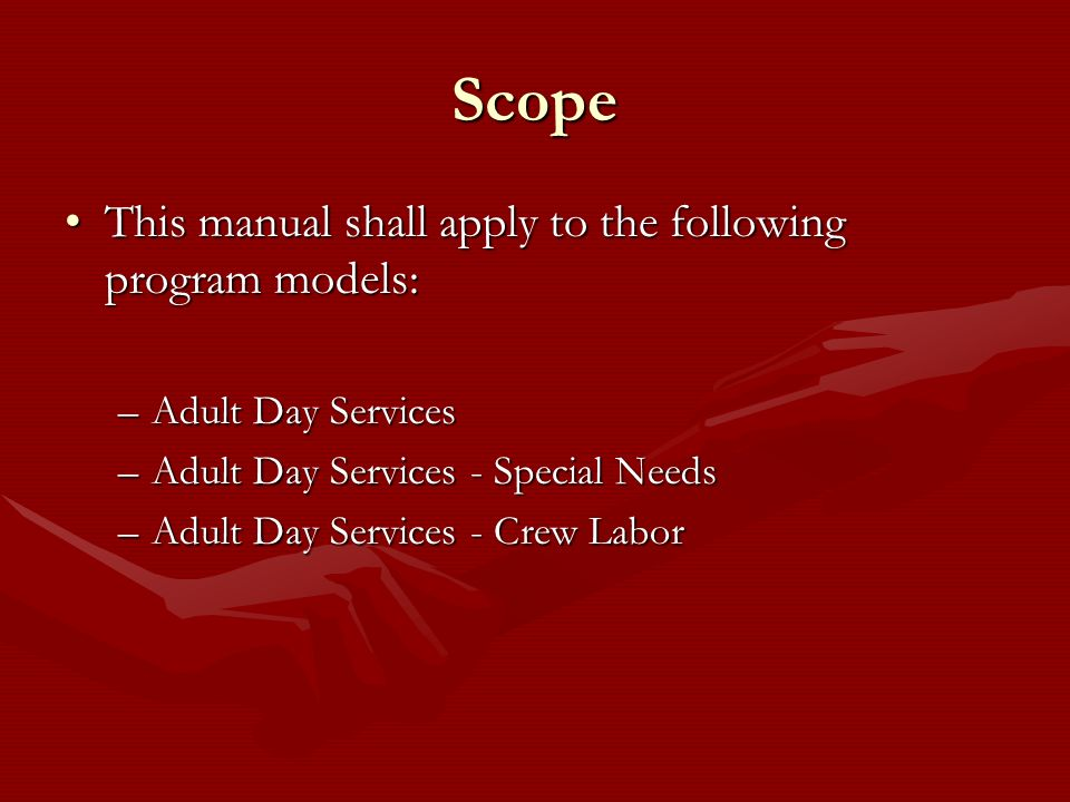 Scope This manual shall apply to the following program models:
