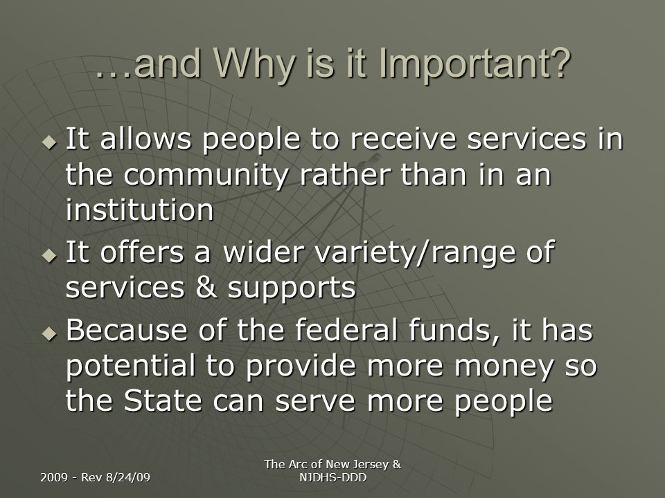 …and Why is it Important