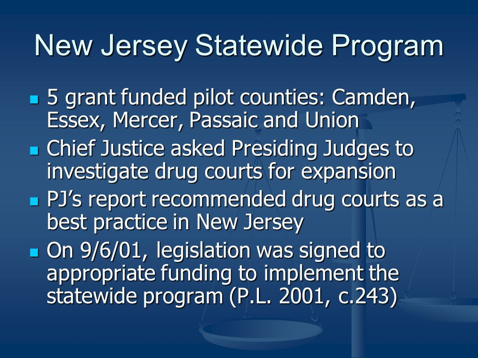 New Jersey Statewide Program
