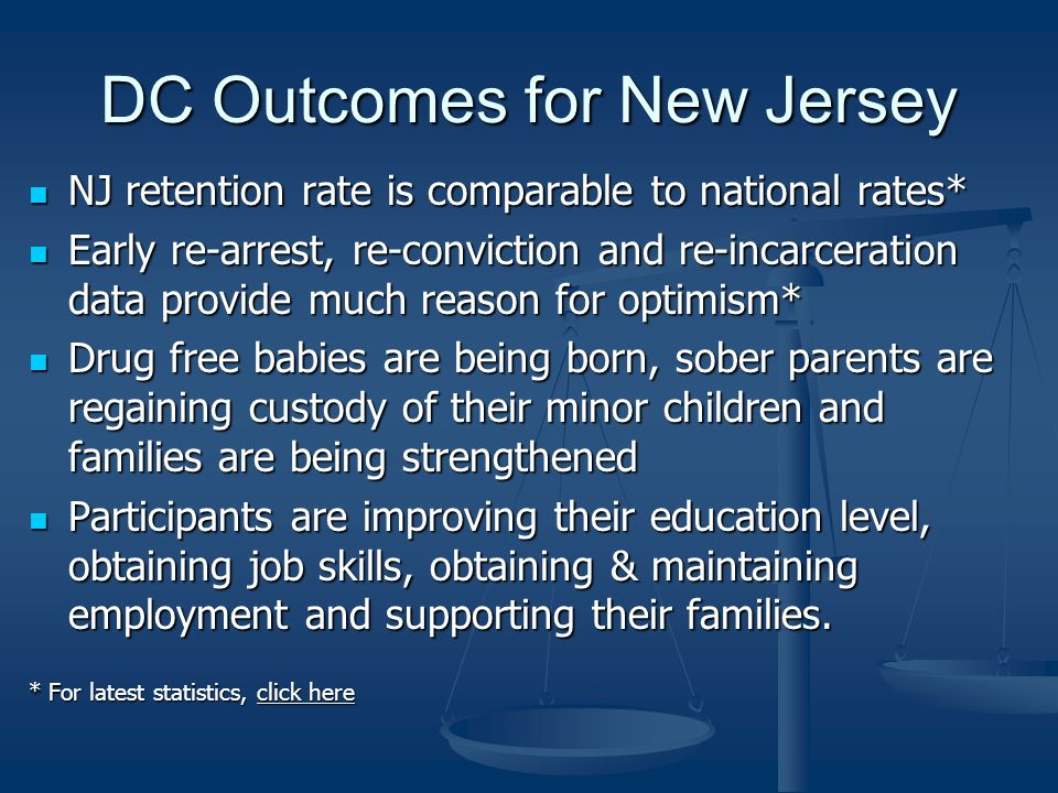 DC Outcomes for New Jersey