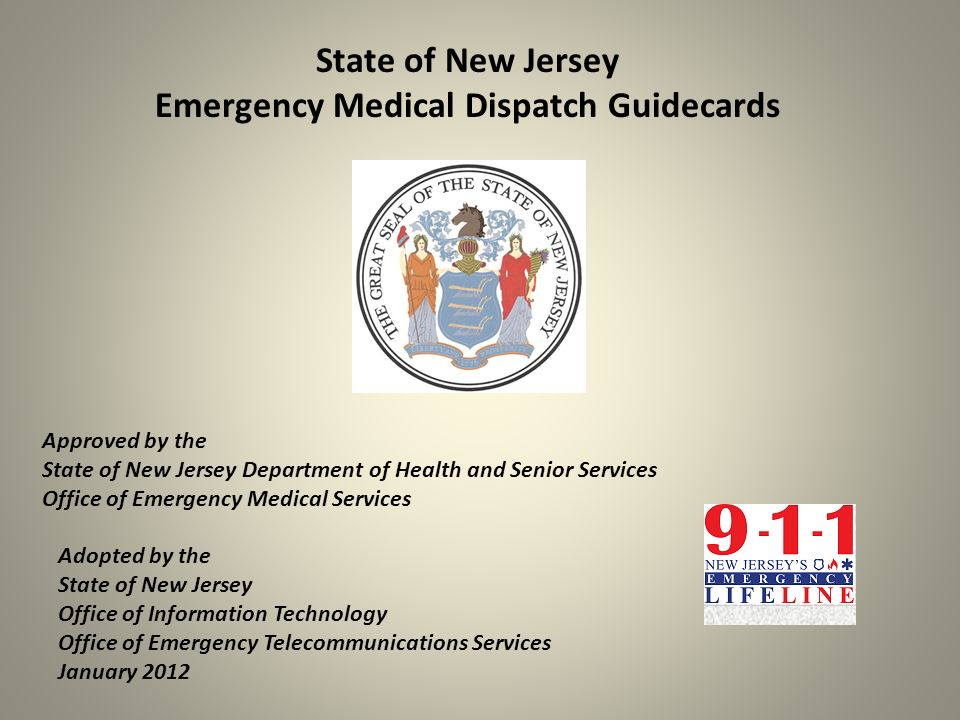 Emergency Medical Dispatch Guidecards
