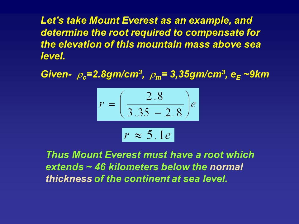 Chapter Equations And How To Manipulate Them Ppt Video Online - How to determine sea level elevation