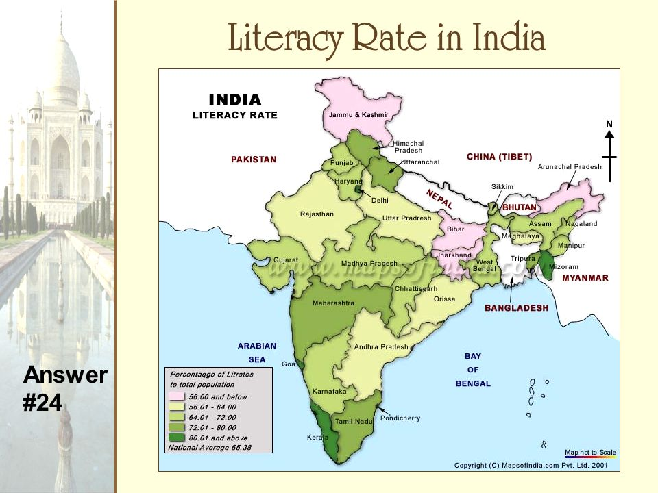literacy rate in india Thus literacy rate is given its due importance in this paper as a key to india's  prosperity introduction india demographics occupy 2 nd rank.