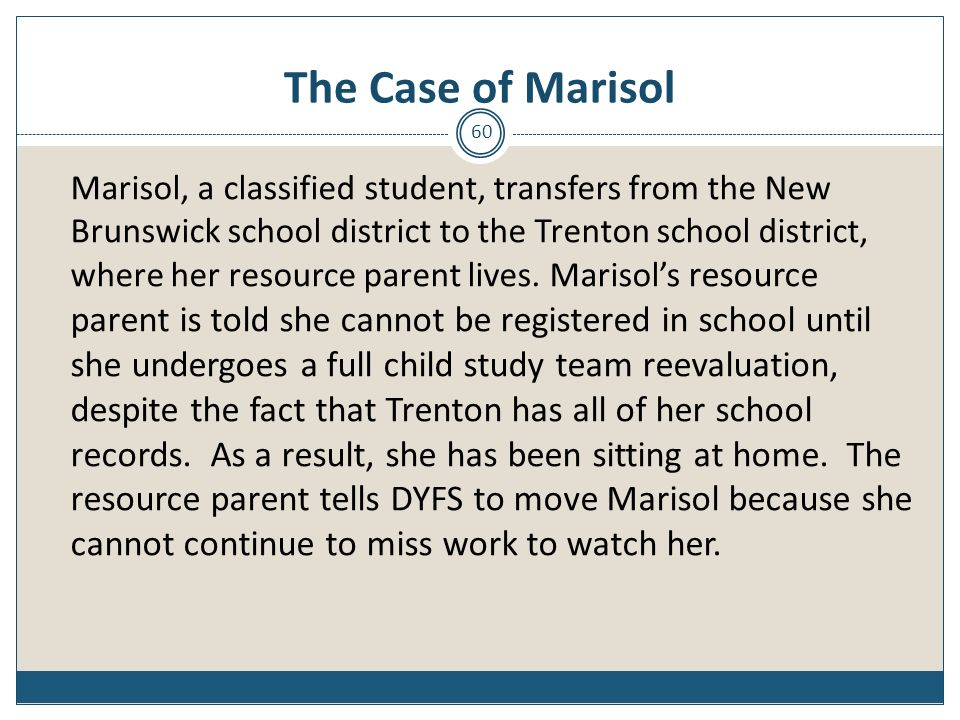 The Case of Marisol