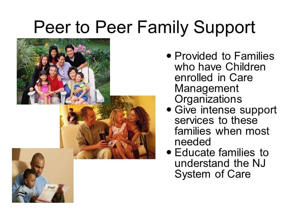 Peer to Peer Family Support