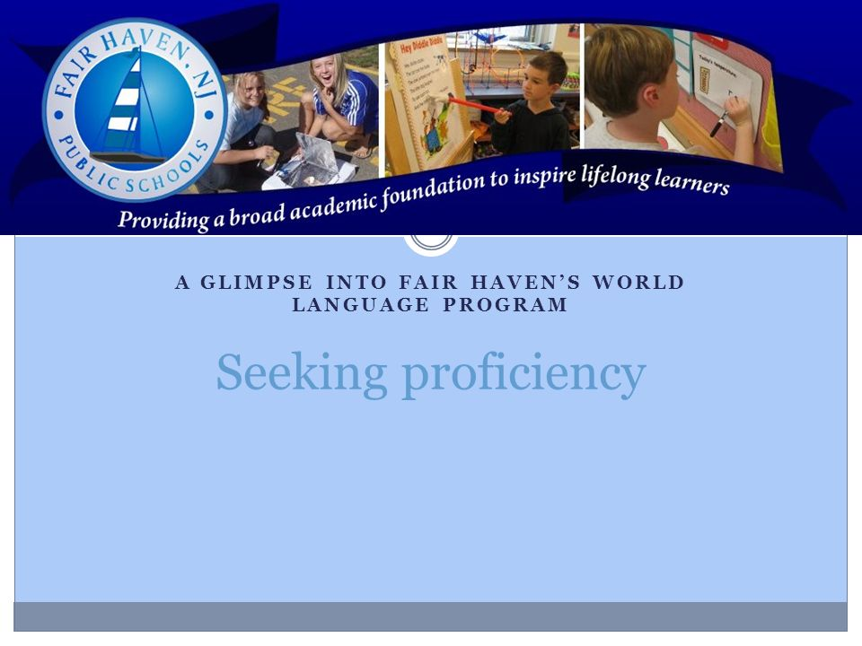 A glimpse into Fair Haven's World Language Program