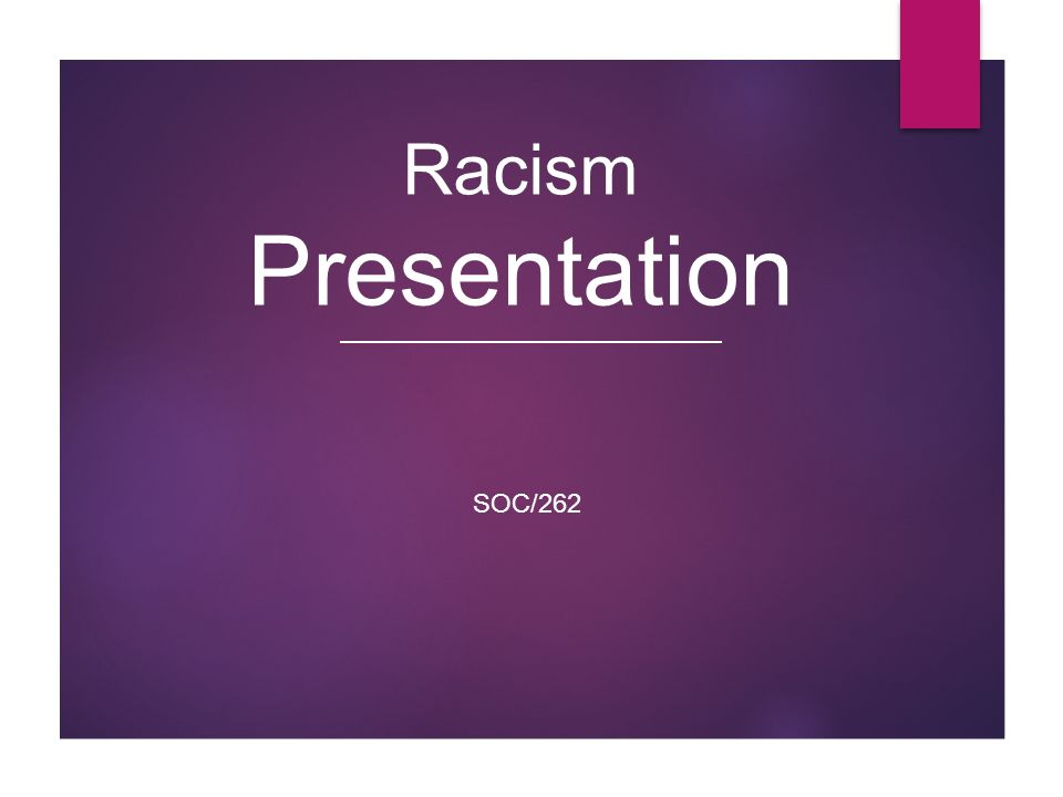 how is racism presented in the Racism is the belief in the superiority of one race over another, which often results in discrimination and prejudice towards people based on their race or ethnicity as of the 2000s, the.