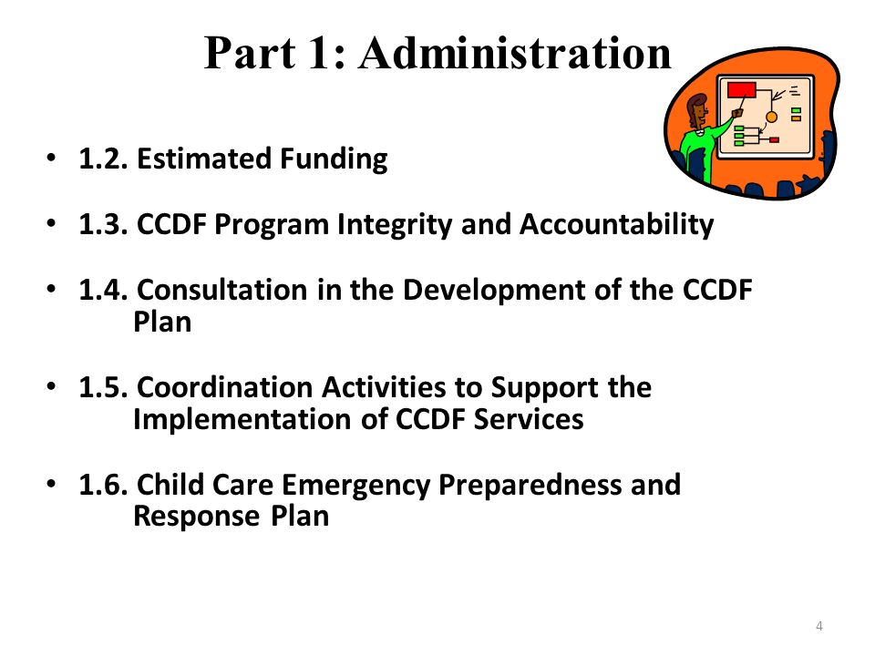 Part 1: Administration 1.2. Estimated Funding