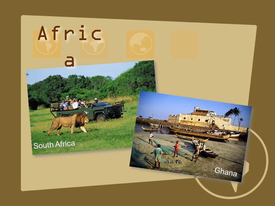 Africa South Africa Ghana