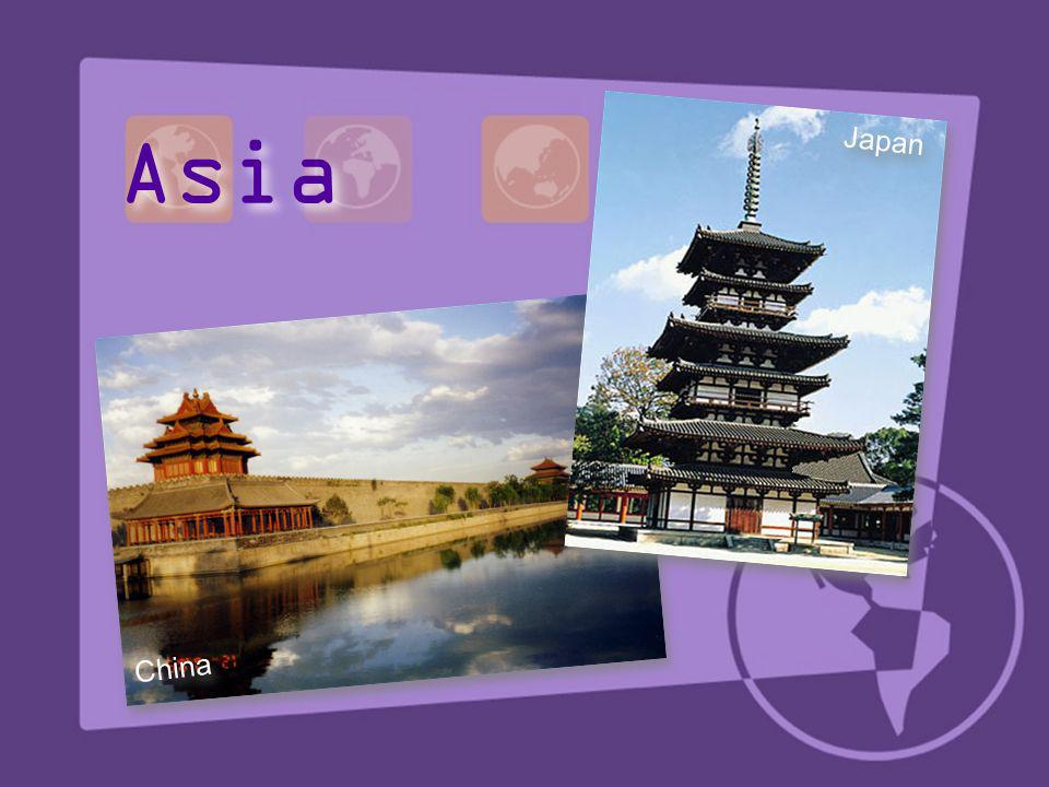 Asia Japan China