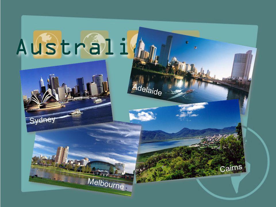 Australia Adelaide Sydney Cairns Melbourne