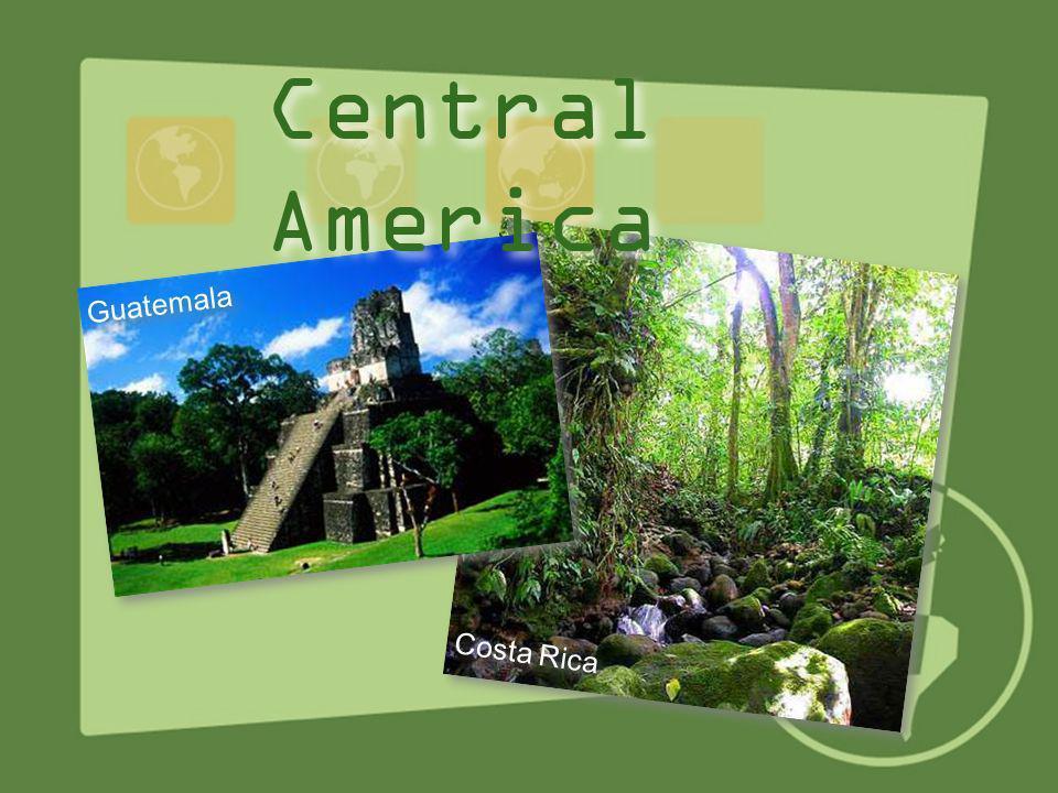 Central America Guatemala Costa Rica