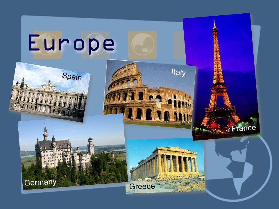 Europe Italy Spain France Germany Greece