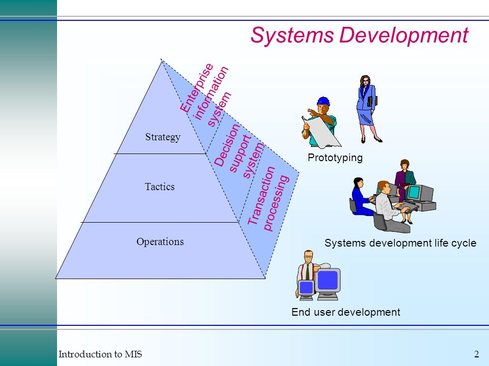 Systems Development Enterprise information system Decision support