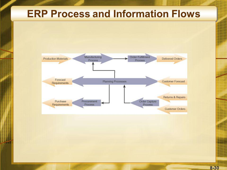 ERP Process and Information Flows