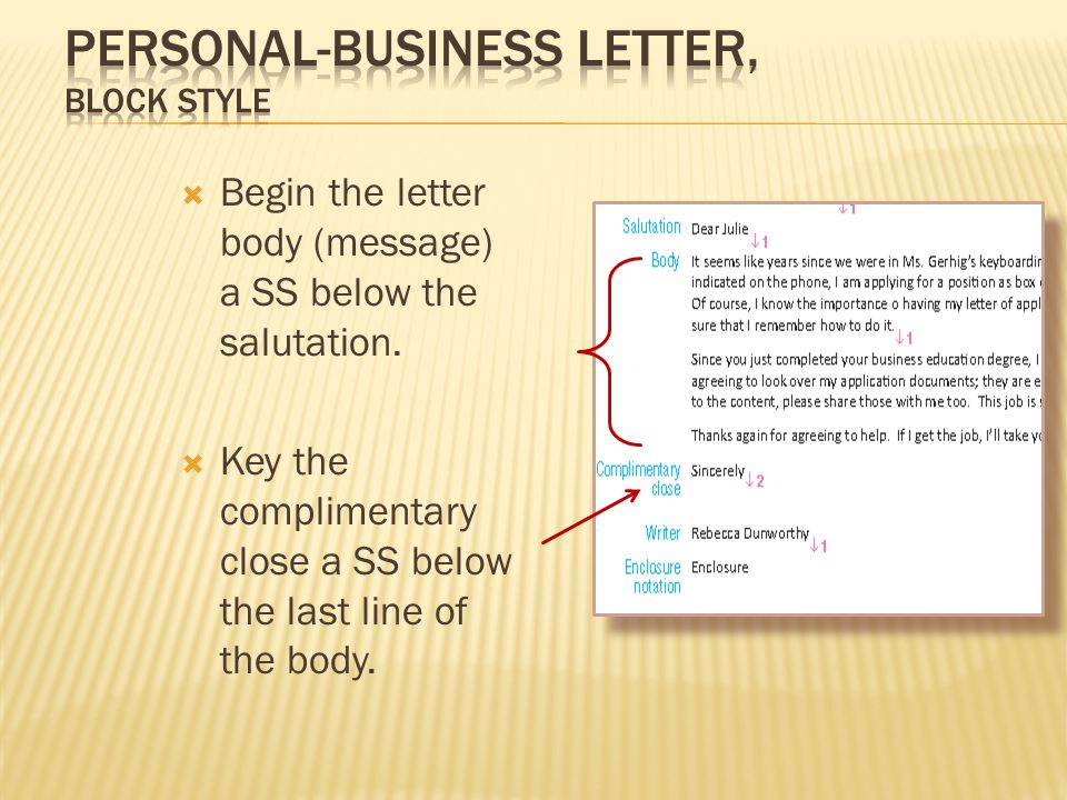 how to begin a personal letter