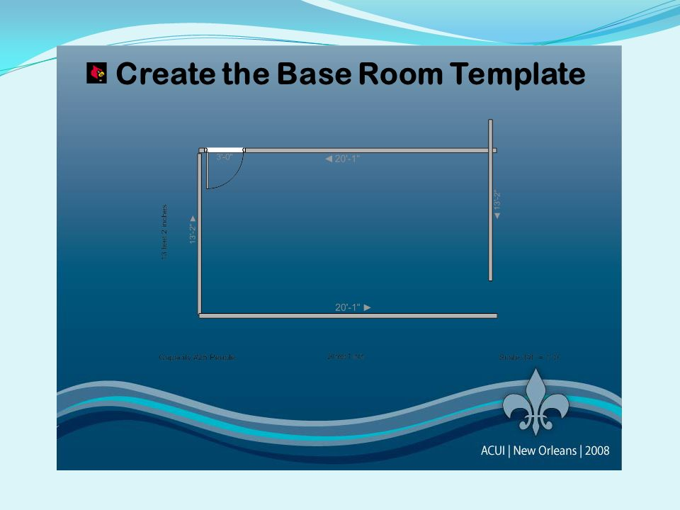 Create the Base Room Template