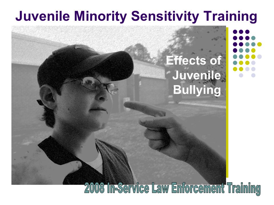 Juvenile Minority Sensitivity Training