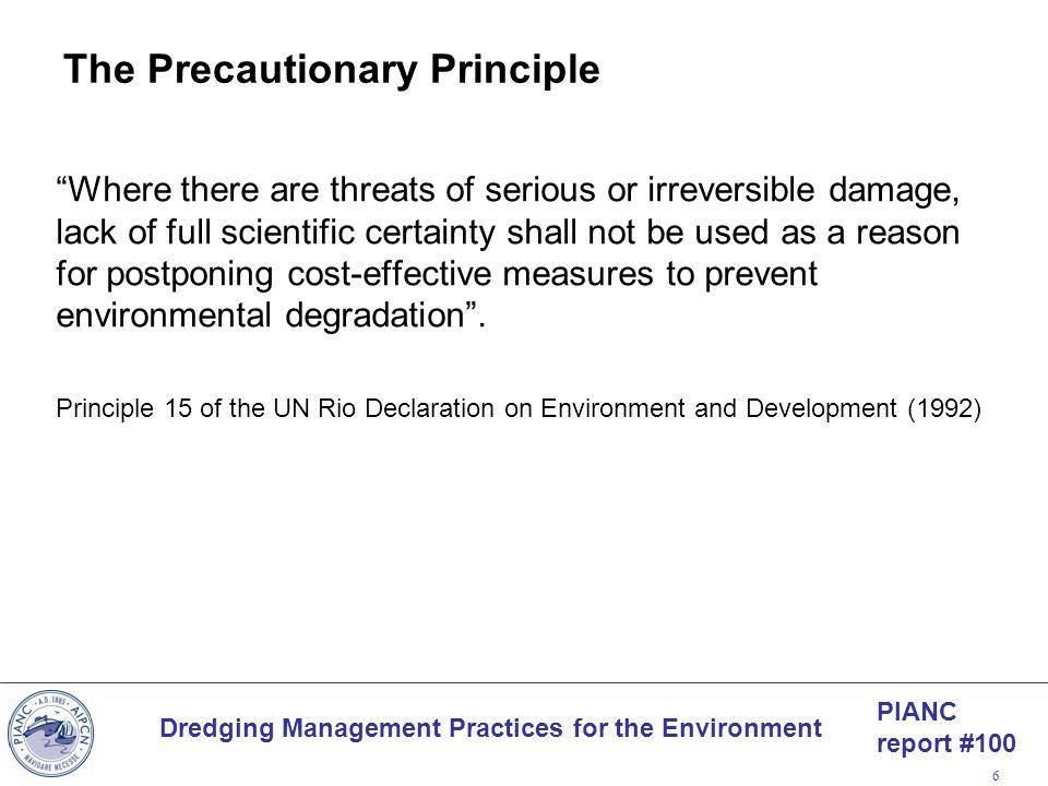 The Precautionary Principle