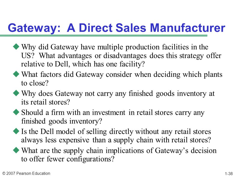 why does gateway not carry any finished product inventory at its retail s Benefits explorerview a personalized list of possible benefits based on your va/dod ebenefits profile  know what's next view the video we want to hear from you.