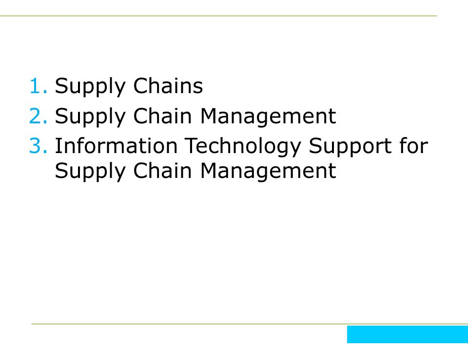 different components in supply chain management Supply chain management (scm) is a process used by companies to ensure that their supply chain is efficient and cost-effective a supply chain is the collection of steps that a company takes to transform raw components into the final product.