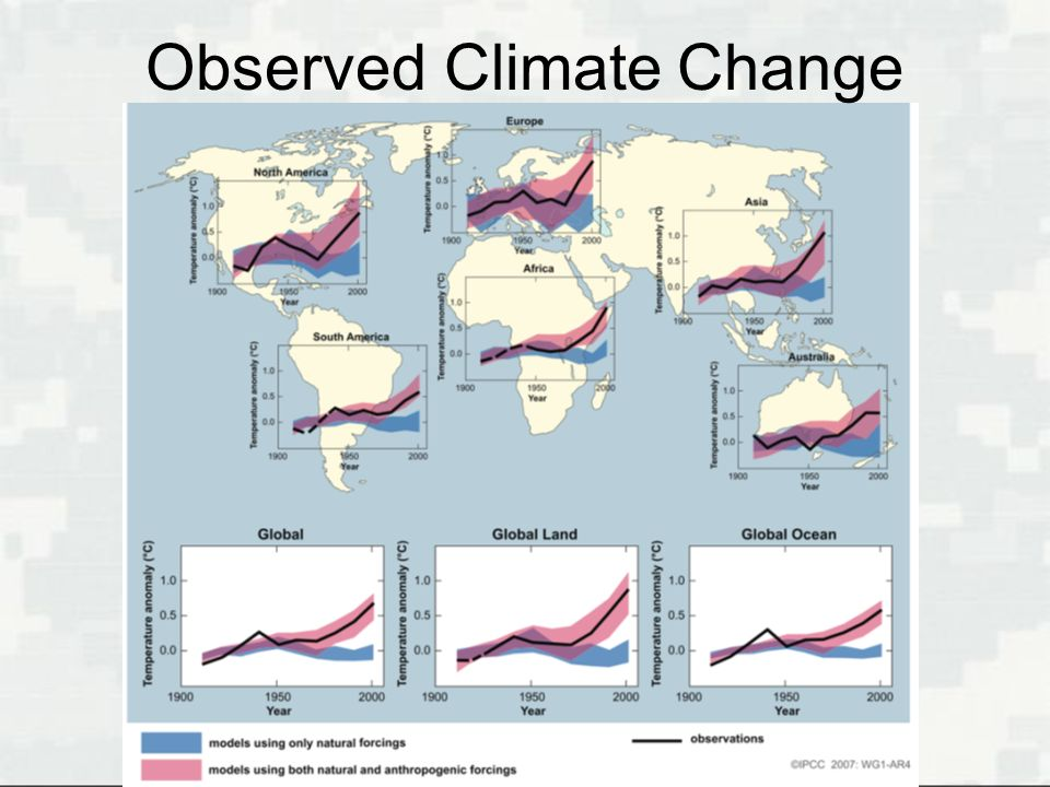 Observed Climate Change