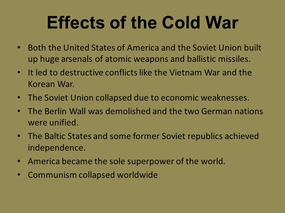 Historical Context: The Global Effect of World War I