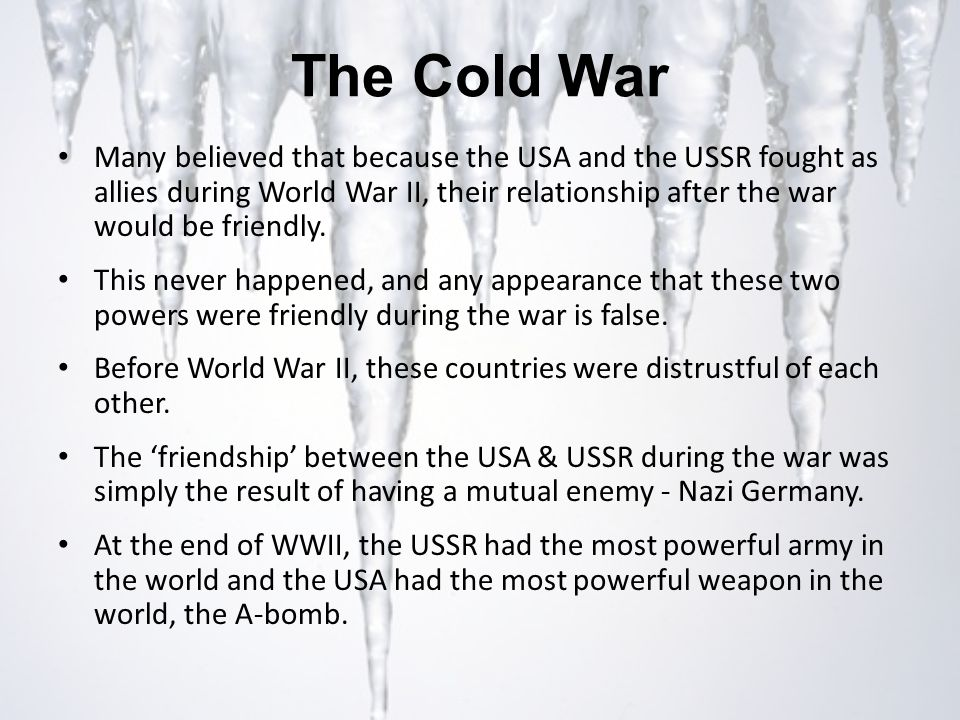 the cold was partly fought during 2006-3-23  a story still to be told tony judt march 23,  the cold war was fought on many  in washington during the early cold war influential men talked loudly of.