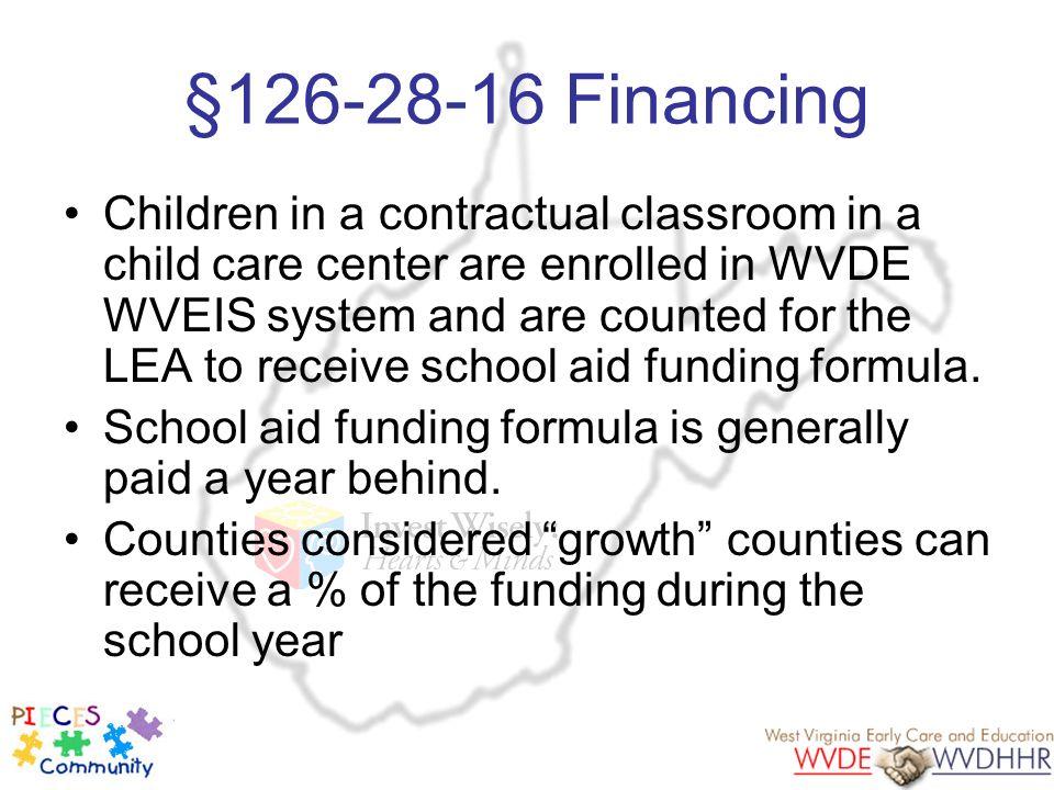 §126-28-16 Financing