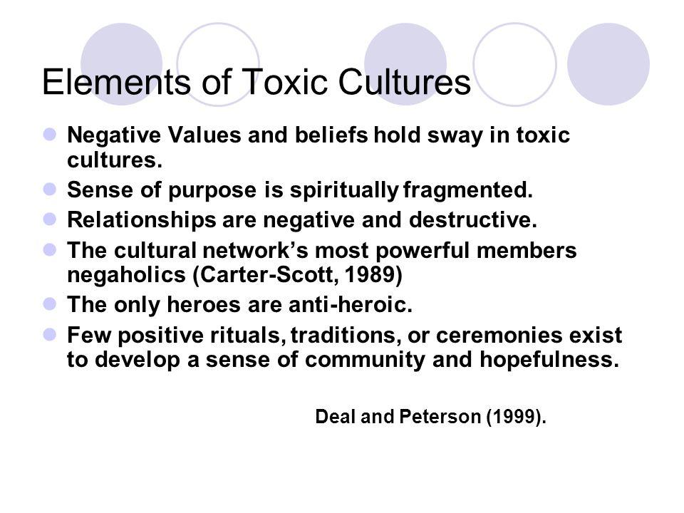 Elements of Toxic Cultures
