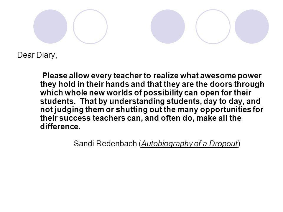 Dear Diary,