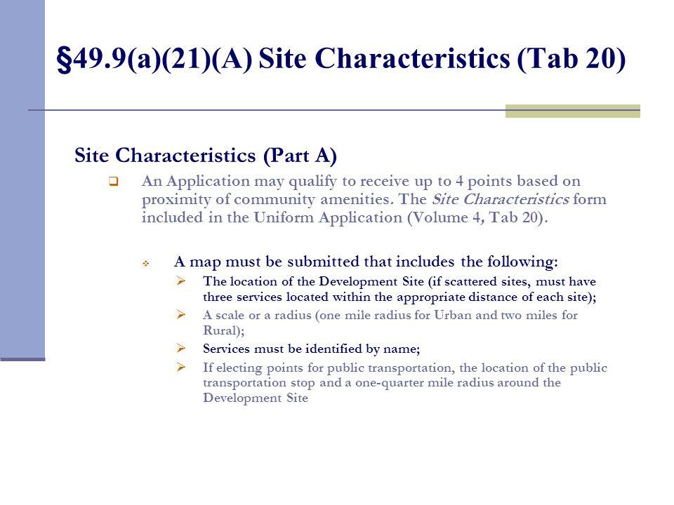 §49.9(a)(20) Length of Affordability (Tab 19)