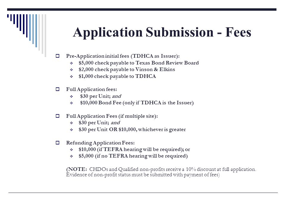 2011 TDHCA Waiting List Application Submission