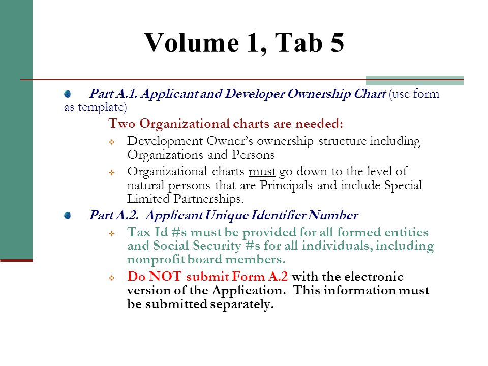 Volume 1, Tab 4 (continued)