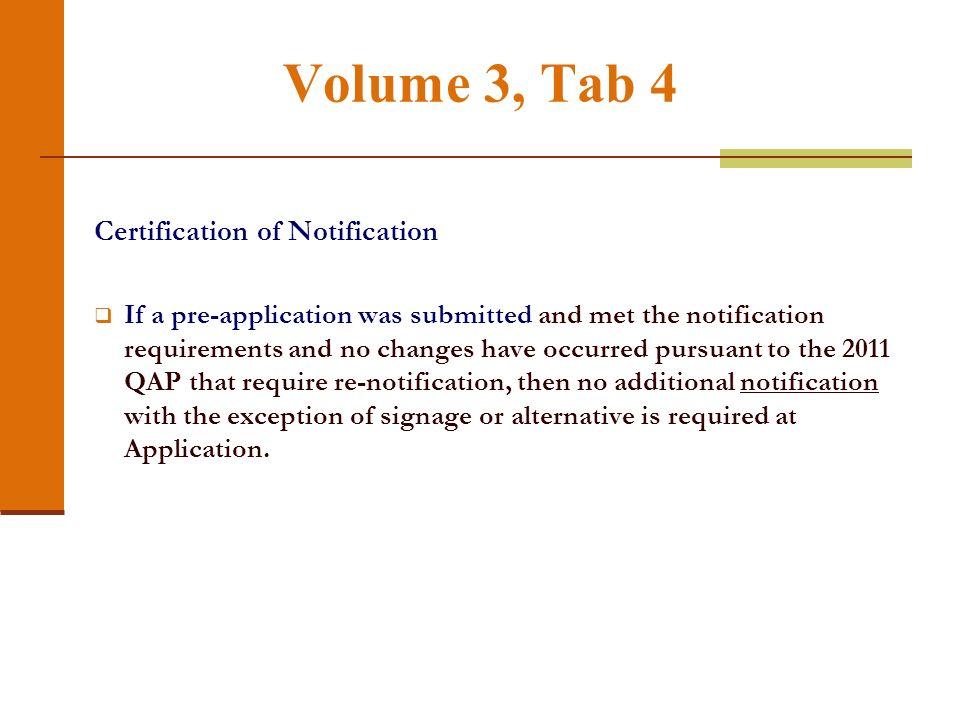 Volume 3, Tab 3 (continued)
