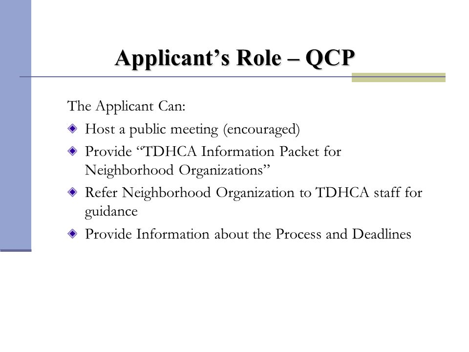 Points Assigned to QCP Letters